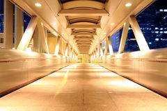 Corridor of the city hall Stock Image
