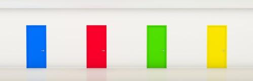 doors color stock photo - image: 58350143