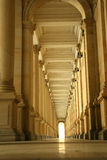 Corridor of columns, hallway. In Paris,France Stock Photos