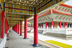 Corridor of A Confucius Temple Stock Photography