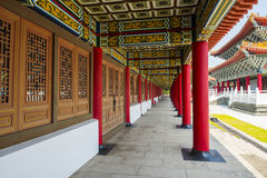 Corridor of A Confucius Temple Royalty Free Stock Photo