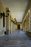 Corridor in Corfu Stock Image