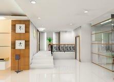 Corridor design Stock Images