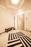 Corridor with a door Royalty Free Stock Image