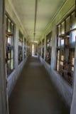 Corridor in Ellis Island building Royalty Free Stock Images