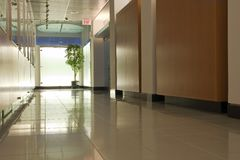 corridor empty Στοκ Φωτογραφίες