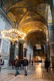 Corridor of Hagia Sophia Stock Photo