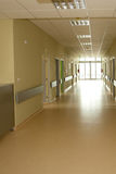 Corridor in hospital Royalty Free Stock Photography