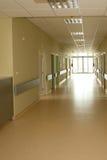 Corridor in hospital royalty free stock photography