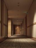 Corridor of hotel Stock Photos