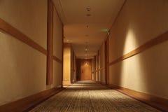 Corridor of hotel Royalty Free Stock Photos