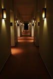 Corridor in hotel Royalty Free Stock Image
