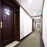 Corridor in hotel Stock Images