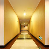 Corridor in the hotel Royalty Free Stock Photography