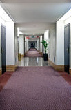 Corridor in the hotel Royalty Free Stock Images