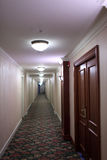 Corridor of hotel Royalty Free Stock Photos
