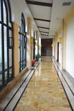 Corridor in the hotel Stock Image