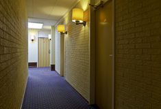 Corridor Hotel Royalty Free Stock Photo