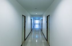 Corridor in hotel Royalty Free Stock Photos