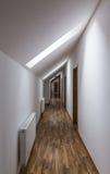 Corridor in a Hotel Royalty Free Stock Photos
