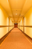 Corridor hotel Royalty Free Stock Photos