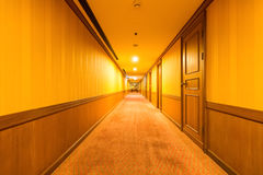 Corridor in the hotel Royalty Free Stock Photo