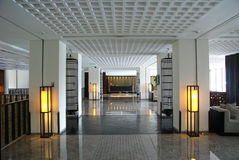 Corridor in the hotel Royalty Free Stock Photos