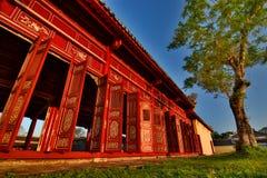 Corridor. Imperial City. Hué. Vietnam Stock Photo