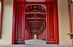 Corridor. Imperial City. Hué. Vietnam Stock Photos