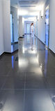 Corridor In A Hospital Building Royalty Free Stock Photography