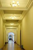 Corridor inside a building. Empty corridor inside a building in yunnan university Royalty Free Stock Image