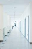 Corridor interior. Modern office building corridor interior Stock Images