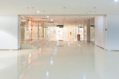 Corridor interior. Modern office building corridor interior Royalty Free Stock Images
