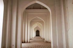Corridor of an Islamic building stock photo