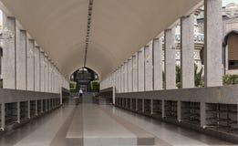 Corridor in  Jame Asr Hassanil Bolkiah Mosque Bandar Seri Begawa Royalty Free Stock Photos