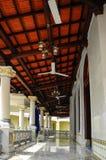 Corridor of Kampung Kling Mosque at Malacca, Malaysia Stock Photos