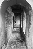 Corridor. This corridor looks so scary and abandoned. It was taken in Spain stock photography
