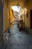 Corridor in Lucca Stock Image