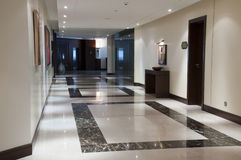 Corridor in the luxury hotel Stock Photography