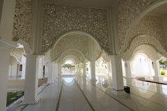 Corridor of Masjid Sultan Ismail in Chendering, Terengganu Stock Images