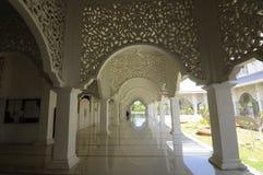 Corridor of Masjid Sultan Ismail in Chendering, Terengganu Stock Photos