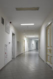 Corridor in modern hospital Stock Image