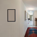 Corridor of a modern house stock photo
