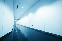 Corridor in modern office Royalty Free Stock Images
