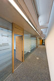 Corridor of a modern office building royalty free stock photo