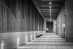 Corridor in the modern office building Royalty Free Stock Image