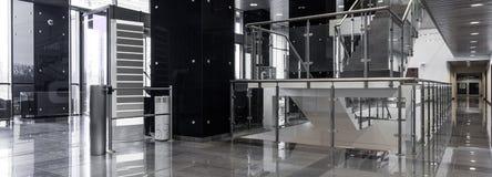 Corridor in modern office Stock Images