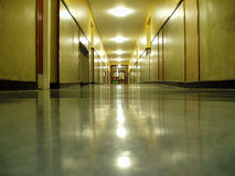 Corridor Night Royalty Free Stock Images