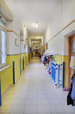 Kindergarten corridor Stock Images
