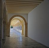 Corridor ofarches Royalty Free Stock Photo
